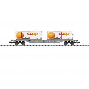 Trix 15469 - Containertragwagen Kühltransp