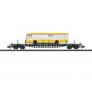 Trix 15861 - Flachwagen mit Bus DB