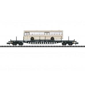 Trix 15862 - Flachwagen mit Bus DB