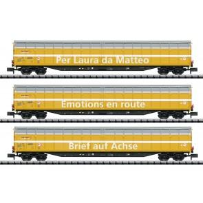 Trix 15874 - Güterwagen-Set der Post SBB