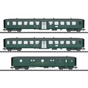 "Trix 23133 - Set sneltreinrijtuigen 2 ""D96 Isar-Rhone"" INSIDER"