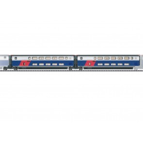 Trix 23487 - Ergänzungswg.Set 1 TGV Duplex