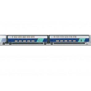 Trix 23488 - Ergänzungswg.Set 2 TGV Duplex