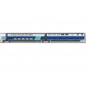 Trix 23489 - Ergänzungswg.Set 3 TGV Duplex