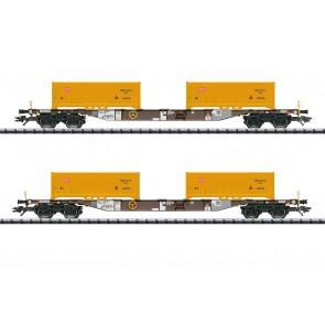 Trix 24136 - Cont.Tragwagen-Set AAEDB