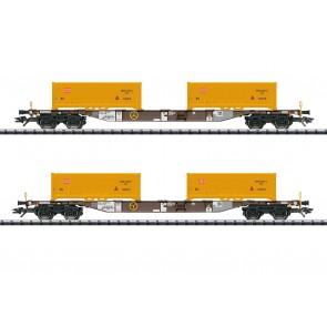 Trix 24138 - Cont.Tragwagen-Set AAEDB