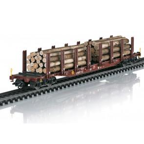 Trix 24146 - Rungenwagen-Set Holztransport
