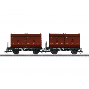 Trix 24175 - Kokskübeltragwagen DB