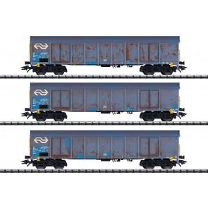 Trix 24367 - Hochbordwagen-Set Ealnos NL