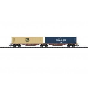 Trix 24800 - Doppel-Tragwagen CD-Cargo