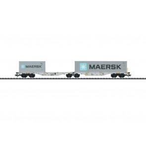 Trix 24801 - Doppel-Tragwagen CZ-ERMW