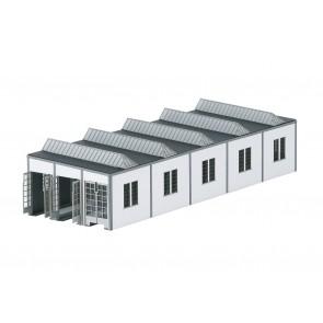 Trix 66318 - Bausatz E-Lok-Schuppen Mannhe