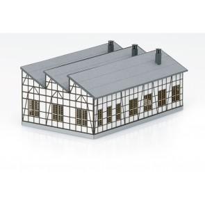 Trix 66326 - Bausatz Dampflokschuppen Rott