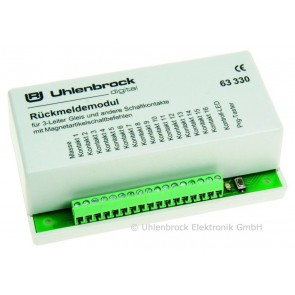 Uhlenbrock 63330 - LOCONET TERUGMELDMODULE 3-R