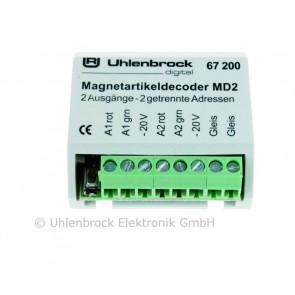 Uhlenbrock 67200 - MD2 MAGNEETARTIKELDEC.
