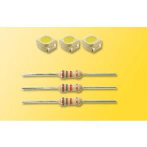 Viessmann 3556 - LEDs weiss D1,8 mm,