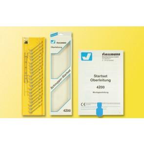 Viessmann 4200 - TT Startset-Oberleitung