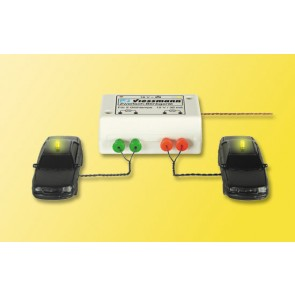 Viessmann 5028 - H0 Zweifach-Blinkgeraet,gelb