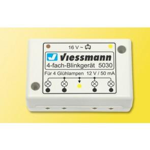 Viessmann 5030 - H0 Vierfach-Blinkgeraet