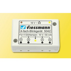 Viessmann 5042 - N Vierfach-Blinkgeraet