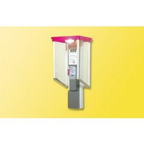 Viessmann 5073 - H0 Telefonzelle Telekom offen