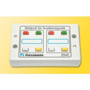 Viessmann 5545 - Tasten-Stellpult 4-begriffig