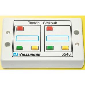 Viessmann 5546 - Tasten-Stellpult 3-begriffig