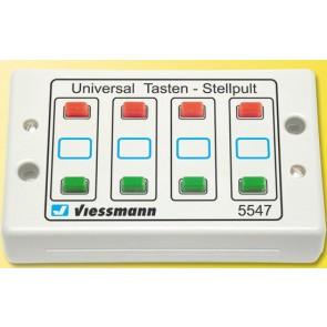 Viessmann 5547 - Tasten-Stellpult 2-begriffig