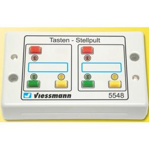 Viessmann 5548 - Tasten-Stellpult,rueckmeldef.