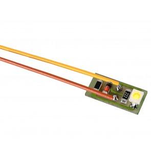 Viessmann 6006 - Hausbel.1 LED weis, 10 Stk