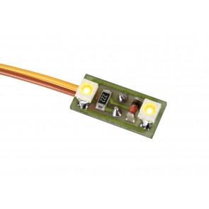 Viessmann 6021 - Hausbel.2 LEDs warmweiß