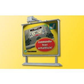 Viessmann 6336 - H0 Werbetafel m. LED-Beleucht