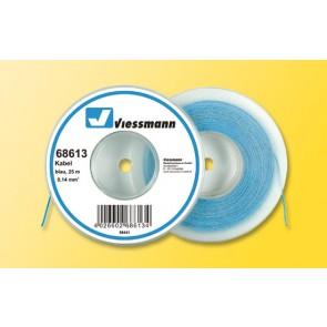 Viessmann 68613 - 25 m Kabel, 0,14 mm²,bl.
