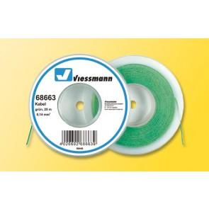 Viessmann 68663 - Kabel 25 m, 0,14 mm², gruen
