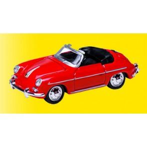 Vollmer 41608 - H0 Porsche 356 B, rot, Fertig