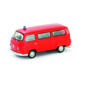 Vollmer 41689 - H0 VW Bus T2, rot, Fertigmode