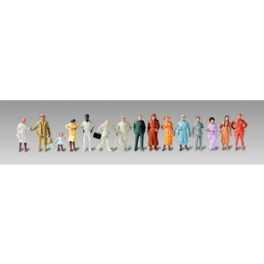 Vollmer 42213 - H0 Figuren-Set Fahrgäste, 30
