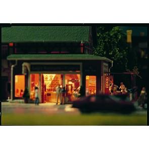 Vollmer 43681 - H0 Luigi's Pizzeria mit Pergo