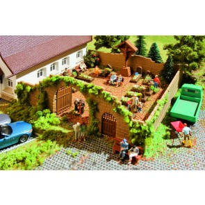 Vollmer 43861 - H0 Deko-Set Friedhof