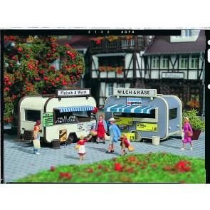 Vollmer 45144 - H0 Verkaufswagen, 2 Stück