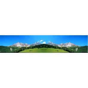 Vollmer 46111 - Hintergrundkulisse Alpenvorla
