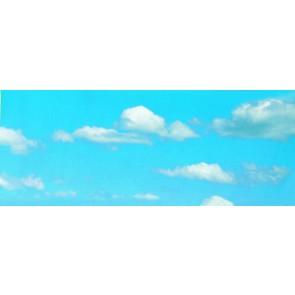 Vollmer 46112 - Hintergrundkulisse Wolken, zw