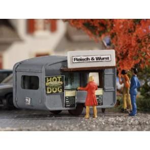 Vollmer 47619 - N Verkaufswagen Fleisch & Wur