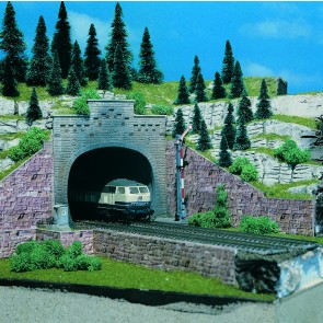 Vollmer 47813 - N Tunnelportal mit Aufsatz, 2