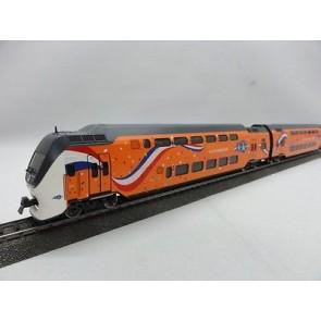 Rivarossi HRS2540 - 4-delige VIRM set 'K(r)oningstrein' NS DC
