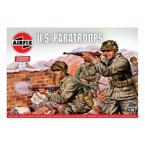 Airfix 00751V - WWII US PARATROOPS