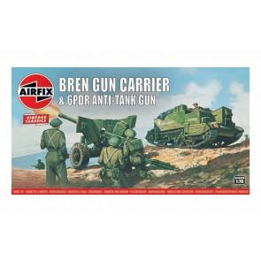 Airfix 01309V - BREN GUN CARRIER & 6 PDR AT GUN 1:76