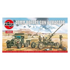 Airfix 02314V - BOFORS GUN & TRACTOR 1:76