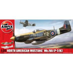 Airfix 14003A - N.A. MUSTANG P51 K S14 1:24 OP=OP!