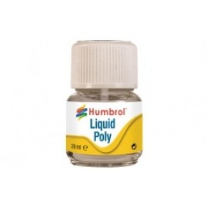 Humbrol AE2500 - LIQUID POLY 28ML (FLESJE)